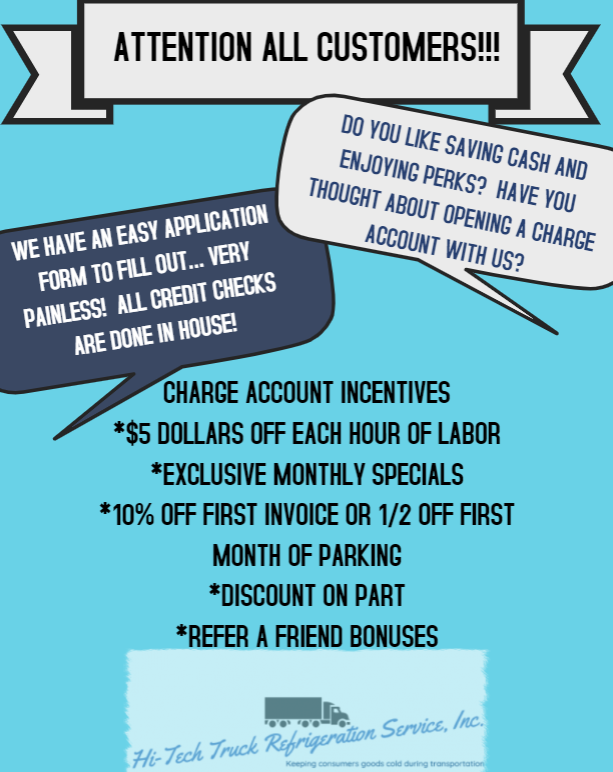 CHARGE ACCOUNT PERKS FLYER FOR ONLINE
